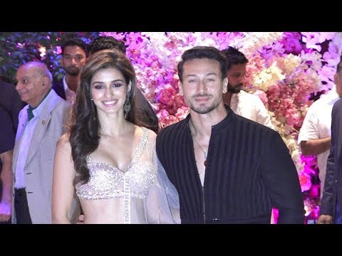 Disha Patani With Boyfriend Tiger Shroff At Akash Ambani Engagement Party thumbnail