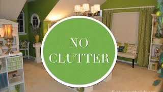 Tips To Keep Craft Room Clutter Under Control
