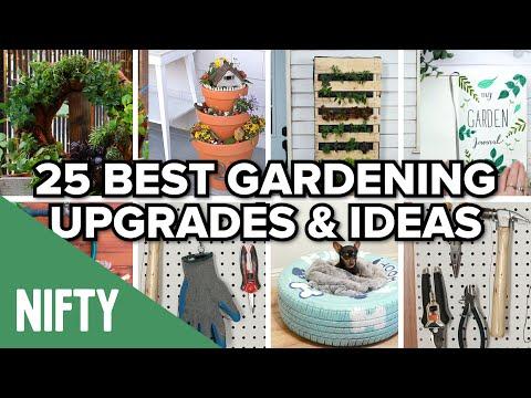 25 Best Gardening Upgrades & Ideas