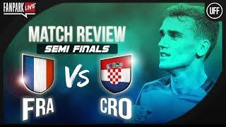 France 4-2 Croatia - Final - Match Review - Phone In - FanPark Live