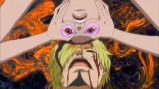 One Piece: Violette essaye de lire dans la tête de Sanji (vostfr HD)