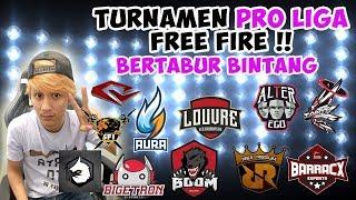 BOCORAN TURNAMEN PRO LIGA FREE FIRE !!