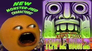 Annoying Orange Plays - Temple Run 2: Halloween