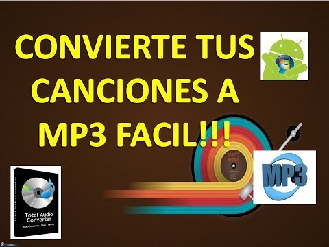 CAMBIA TUS CANCIONES DE .CDA A MP3 FACIL!!!!