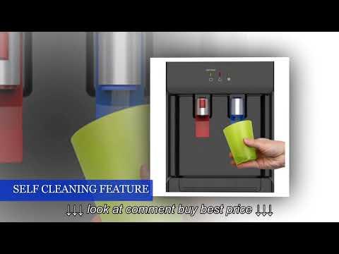 Avalon Countertop Self Cleaning Bottleless Water Cooler Water Dispenser   Hot & Cold Water