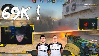 S1mple's best FPL match EVER (+ reactions from XANTARES and Tabsen) #CSGO