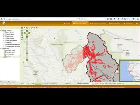 VIDEO TUTORIAL PARA EL USO DEL GEOPORTAL  REGIONAL
