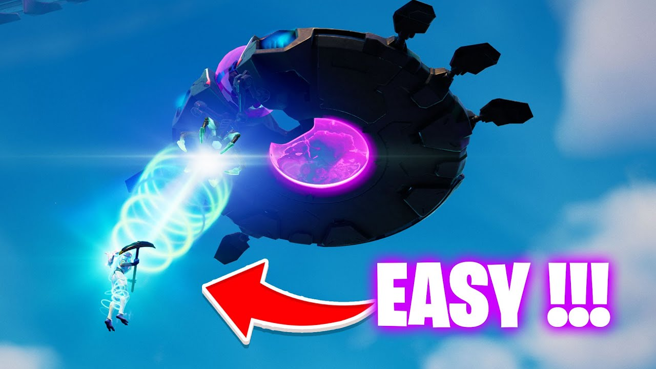 Download Abduct an opponent with a Saucer tractor beam Fortnite