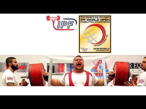 Special Olympics Demonstration,  - World Open Powerlifting Championships 2016