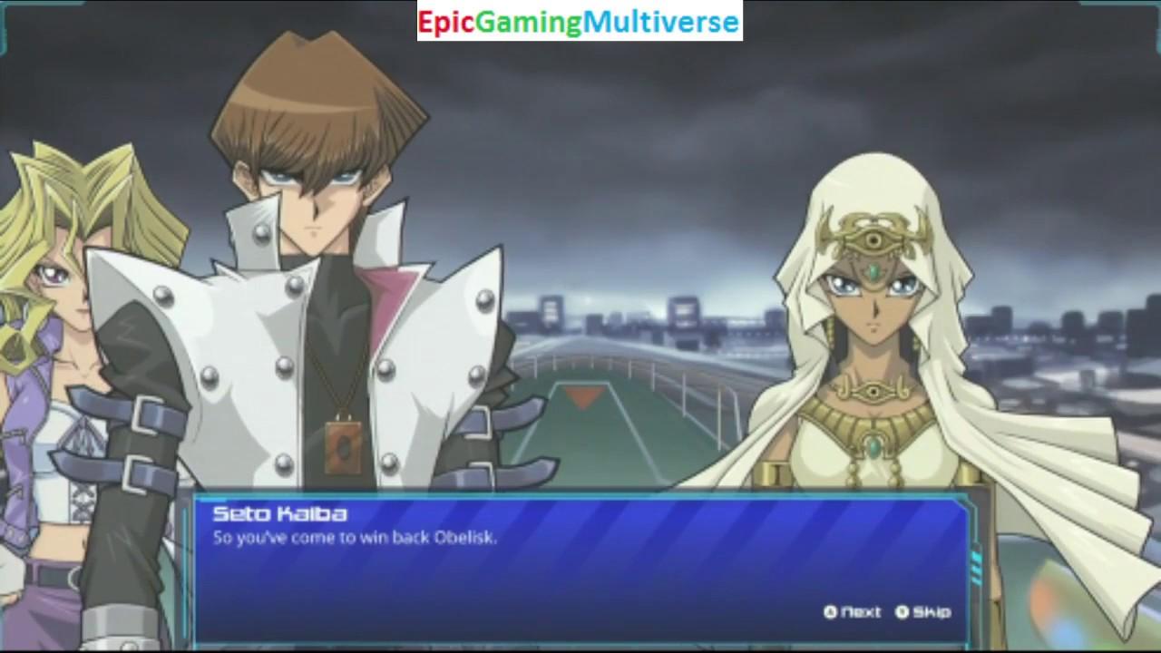 Ishizu Ishtar VS Seto Kaiba In A Yu-Gi-Oh! Legacy Of The Duelist Yu-Gi-Oh!  Campaign Mode Duel