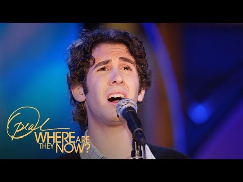 Remember When Josh Groban Made Gayle King Scream? | Where Are They Now | Oprah Winfrey Network