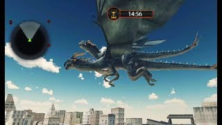 ► Flying Dragon Robot Transform City Rescue Mission (White Sand 3D Games Studio) Android Gameplay