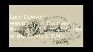 Dachshund Art, Part 3, Lucy Dawson Antique Prints