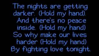 Akon ft Michael Jackson - Hold My Hand + Lyrics On Screen