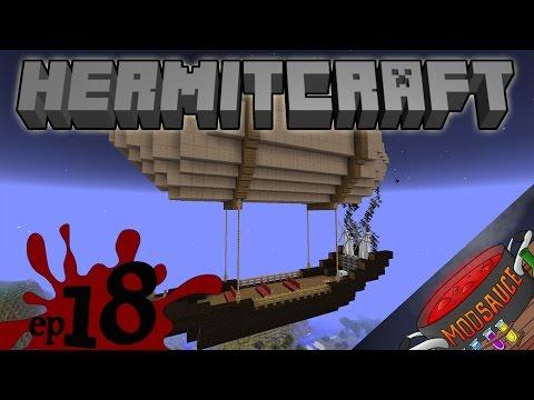Minecraft1.7.10 Mods - HermitCraft ModSauce - Ep18 - Archimedes Airship