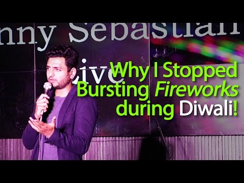 Why I Stopped Bursting Firecrackers During Diwali - Kenny Sebastian (Stand Up Comedy)