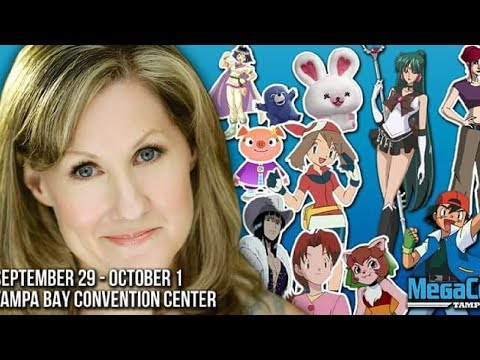 Veronica Taylor (Voice of Ash Ketchum) at MegaCon in Tampa Bay