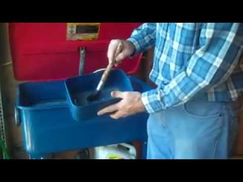 Harbor Freight Parts Cleaner Review