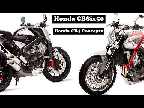 Honda CBSix50 and Honda CB4 Concepts, seriously cool concept ...