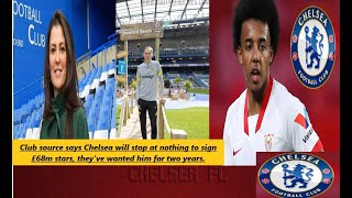 Club source says Chelsea will stop at nothing to sign £68m stars, they've wanted him for two years.