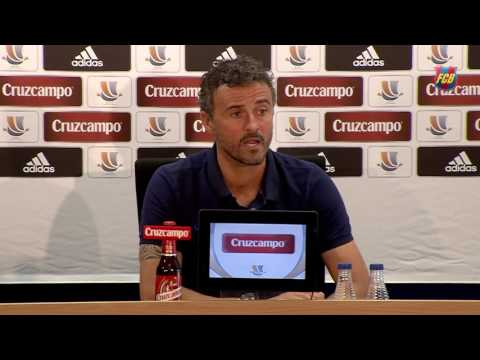 "Luis Enrique: ""We want to strike first"""