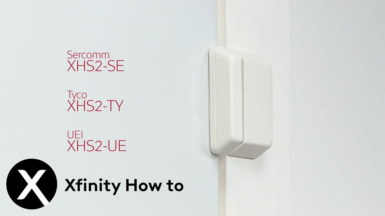 Xfinity Home Battery Replacement Xhs2 Door And Window