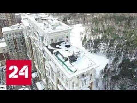 Карлсон наших дней: личный курорт устроил на крыше житель столичного Кунцева - Россия 24