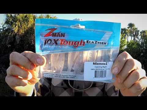 The Z-MAN MinnowZ | Fishing With The December MTB Inshore Saltwater