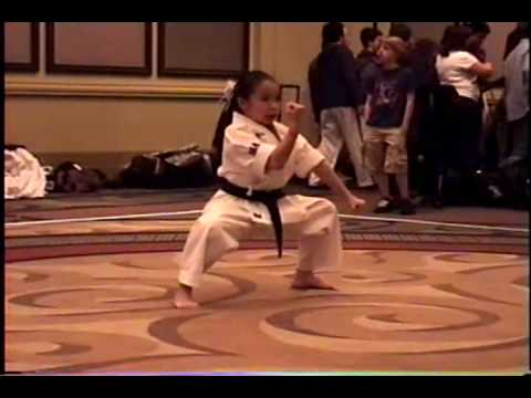 World's best all around 10 year-old martial arts girl in 2006 ...