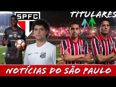NOTÍCIAS DO SÃO PAULO!! PLAZA NO SÃO PAULO, VICTOR FERRAZ E PROVÁVEL ESCALAÇÃO PARA O CLÁSSICO!!
