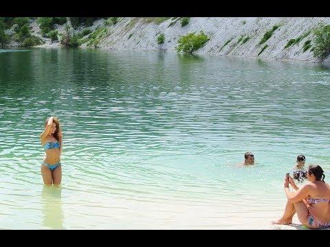 Надоело лежать на пляже? Эко-туризм - вот, что нужно! Мраморное озеро. Крым.