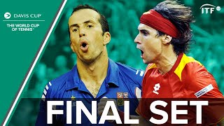 Ferrer & Štěpánek in Epic Fifth Set Battle! | Davis Cup Final 2009 | Spain v Czech Republic