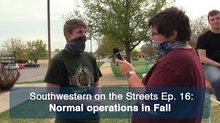 SWOSU students are looking forward to a normal Fall Semester | Southwestern on the Streets Ep. 16