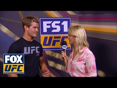 Laura Sanko talks with Sage Northcutt   INTERVIEW   UFC FIGHT NIGHT