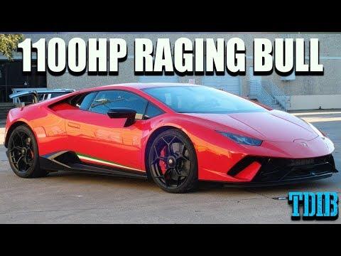 Unleashing the 1100HP Raging Bull! Twin Turbo Lamborghini Performante Review!
