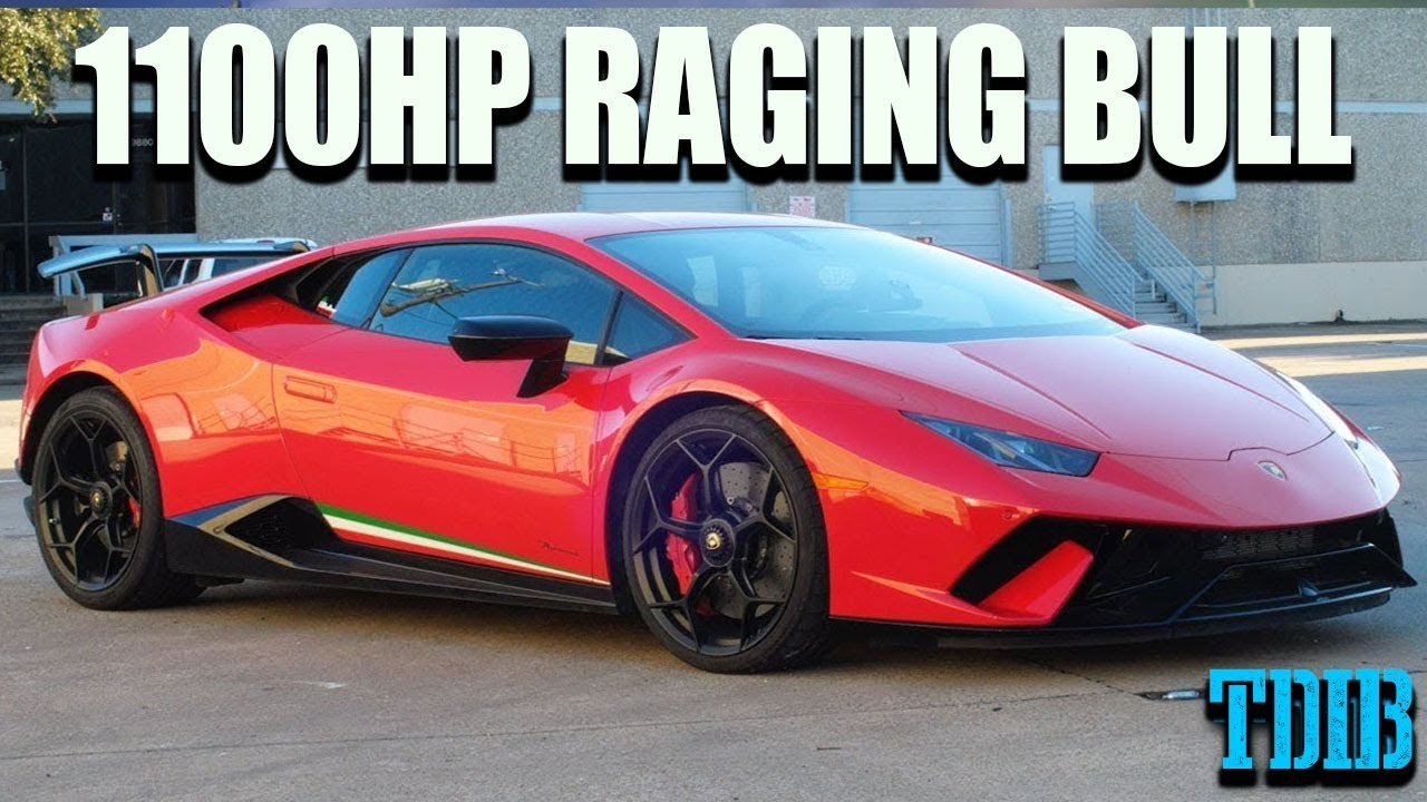 Unleashing The 1100hp Raging Bull Twin Turbo Lamborghini