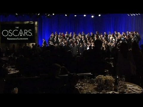 Oscar nominees attend traditional luncheon...