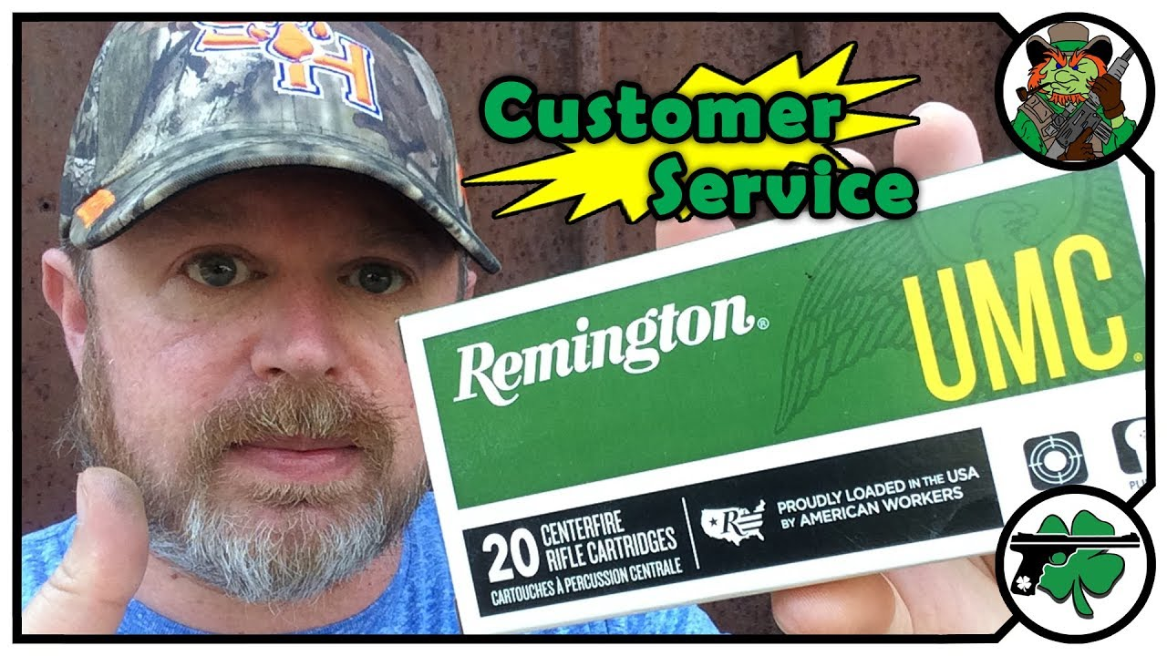 Remington Ammunition & Customer Service Experience