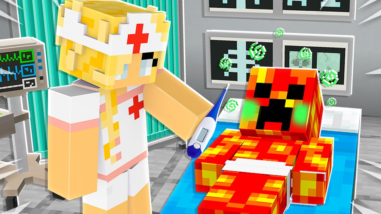 Download Saving BABY YOUTUBERS in Minecraft as a Nurse!
