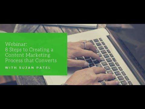 Sujan Patel - Content Marketing Tutorial