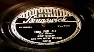 Free For All - Art Shaw And His New Music (Brunswick)