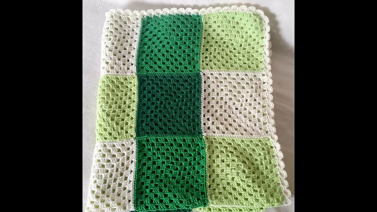 How To Crochet A Granny Square Easy Tutorial For A Quadrate By