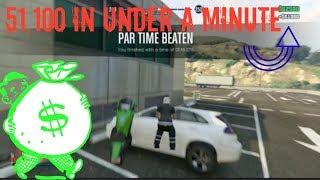 GTA 5 MAKE 51,000 In 1 Minute ONLINE