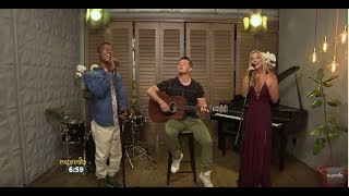 """Jade Hübner and Katlego Maboe performs """"Say Something"""" by A Great Big World ft. Christina"""