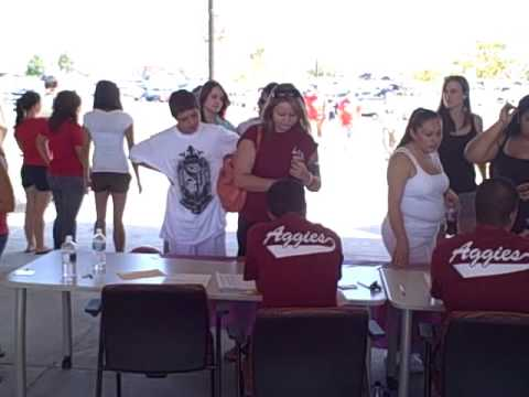 New Mexico State University Move-In Day - August 16, 2009 - Main Campus In Las Cruces - NMSU Aggies