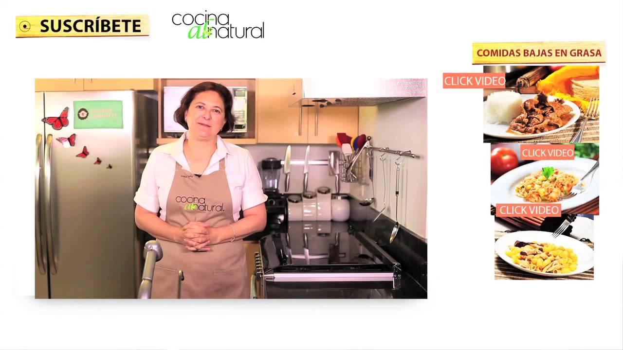 Recetas De Cocina Bajas En Calorias   Recetas Bajas En Calorias Y Grasas Faciles De Preparar Youtube