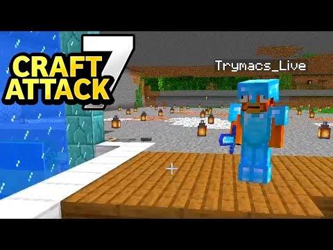 Trymacs reagiert auf meine Redstone Technik! Sprachlos!  - Minecraft Craft Attack 7 #61