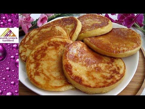 Yumuşacık Pankek Nasıl Yapılır?/Yumuşacık Puf Puf Kabaran Pankek Tarifi/Pancake