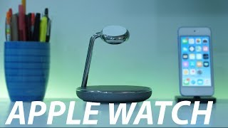 The BEST Apple Watch & iPhone Wireless Charging Dock