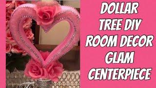 Elegant Centerpiece/Candle Holder Dollar Tree DIY Valentines Day  Wedding Decor Ideas 2019